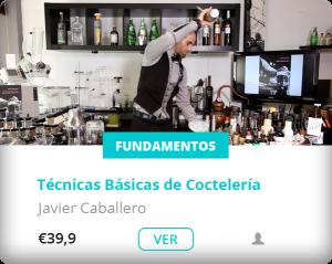 workshop dash javiddr caballero sobre tecnicas basicas de cocteleria