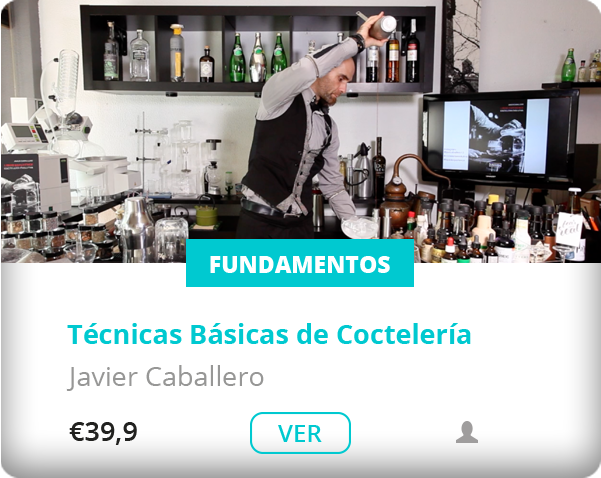 workshop dash javier caballero sobre tecnicas basicas de cocteleria