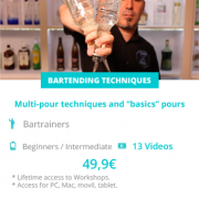 """Multi - pour techniques and """"basics"""" pours"""