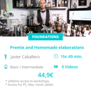 Premix y elaboraciones Homemade