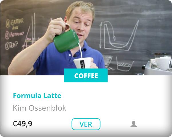 Kim Ossenblok formula Latte coffe dash