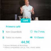 kim Ossenblok workshops primero cafe dash