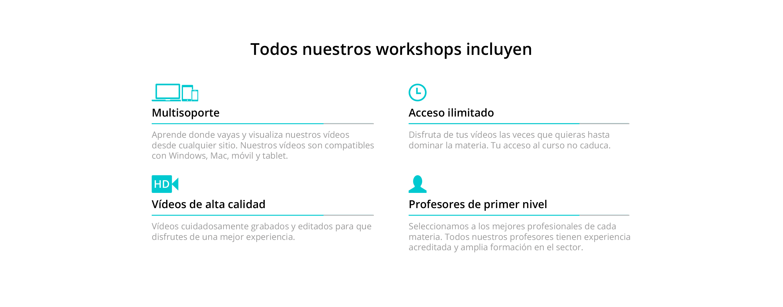 dash workshops
