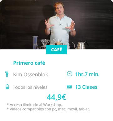 kim Ossenblok workshops primero cafe dash